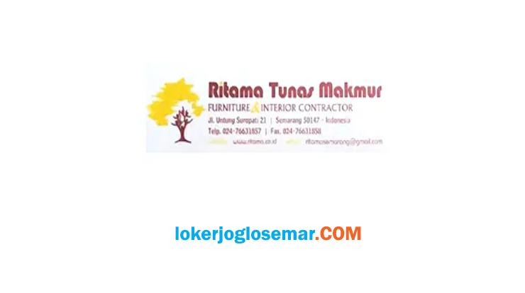 Info Loker Semarang Ritama Tunas Makmur