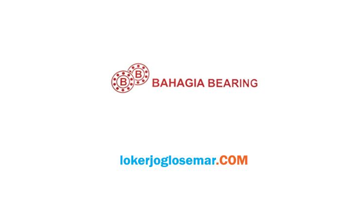 Loker Semarang September 2020 Bahagia Bearing
