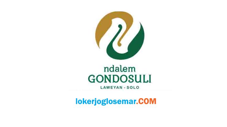 Info Loker Solo Ndalem Gondosuli