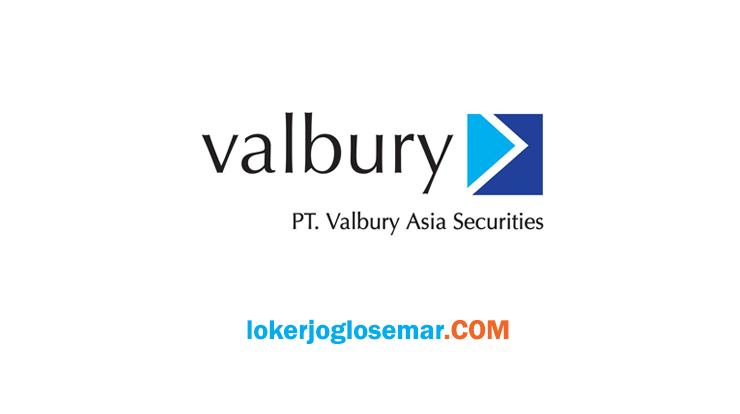 Lowongan Kerja Jogja Terbaru PT Valbury Asia Futures