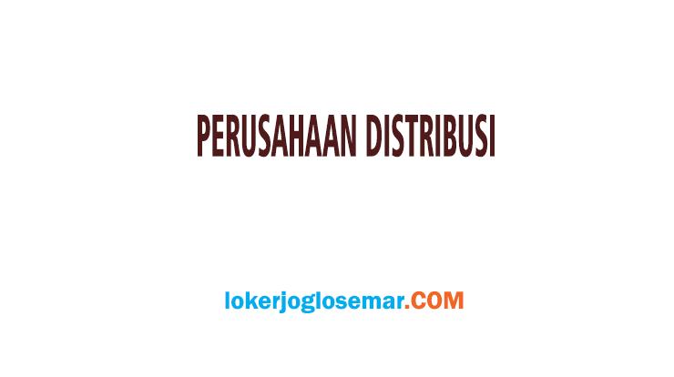 Info Loker Terbaru Perusahaan Distribusi