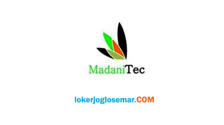 Lowongan Kerja Perusahaan Manufaktur Jogja PT Madani Technology