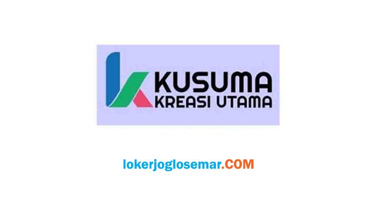 Loker Programmer PT Kusuma Kreasi Utama Karanganyar