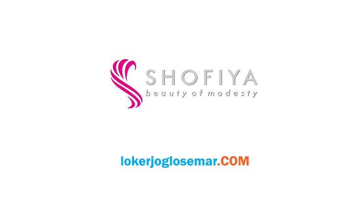 Lowongan Kerja Solo Raya Terbaru Shofiya Group