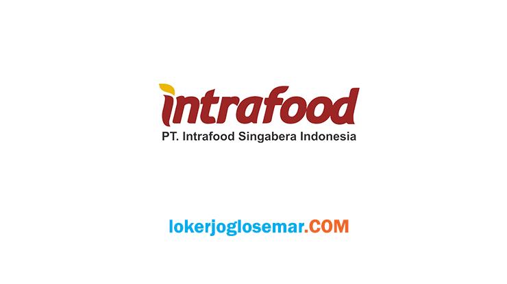 Loker PT Intrafood Singabera Indonesia Pati dan Sekitarnya