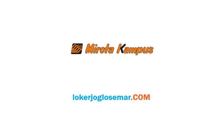 LokerYogyakarta Terbaru Mirota Kampus