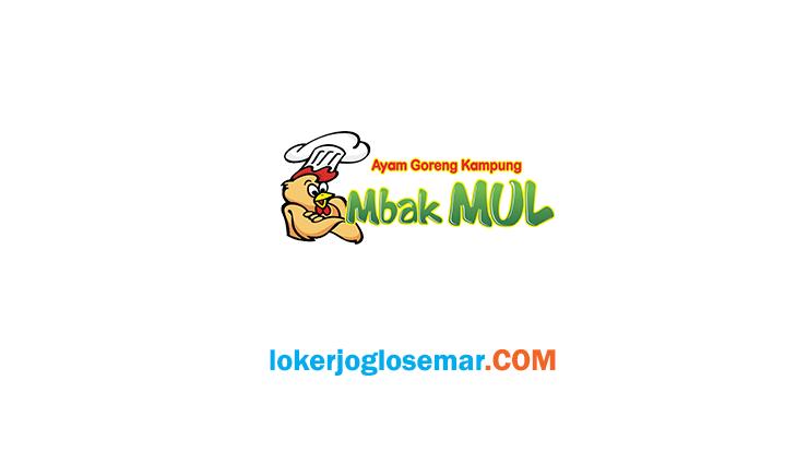 Loker Sukoharjo dan Karanganyar September 2020 Ayam Goreng Kampung Mbak Mul