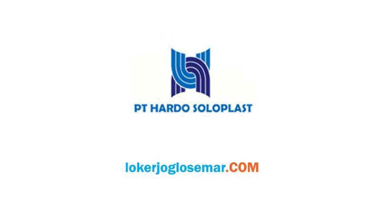 Lowongan Kerja PT Hardo Soloplast Group Karanganyar dan Sragen