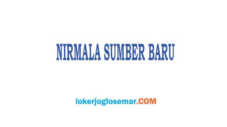Lowongan Kerja Semarang CV Nirmala Sumber Baru