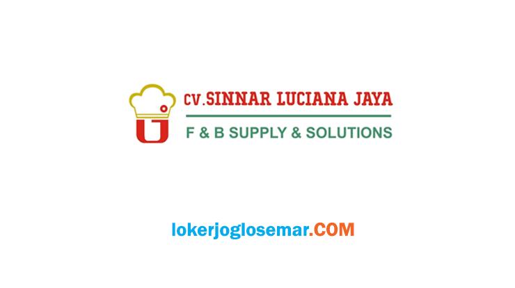 Lowongan Kerja Juni 2020 Yogyakarta CV Sinnar Luciana Jaya