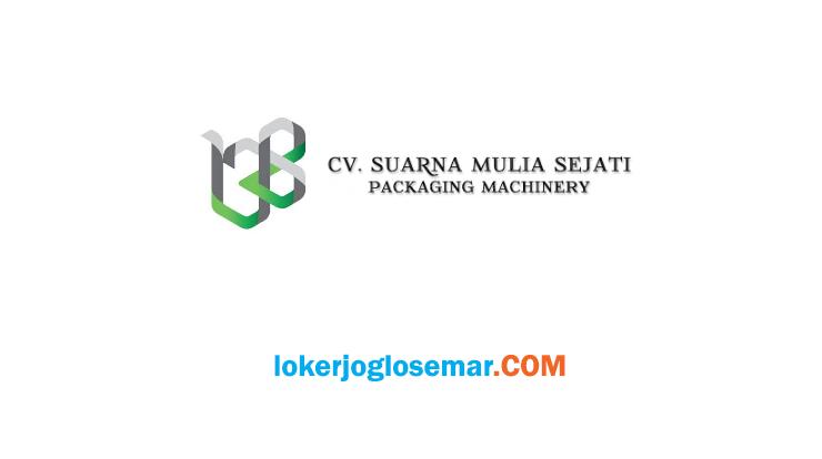 Lowongan Kerja Semarang Lulusan S1 CV Suarna Mulia Sejati