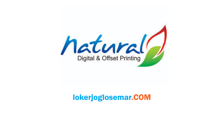 Lowongan Kerja Solo & Jakarta Natural Digital & Offset Printing