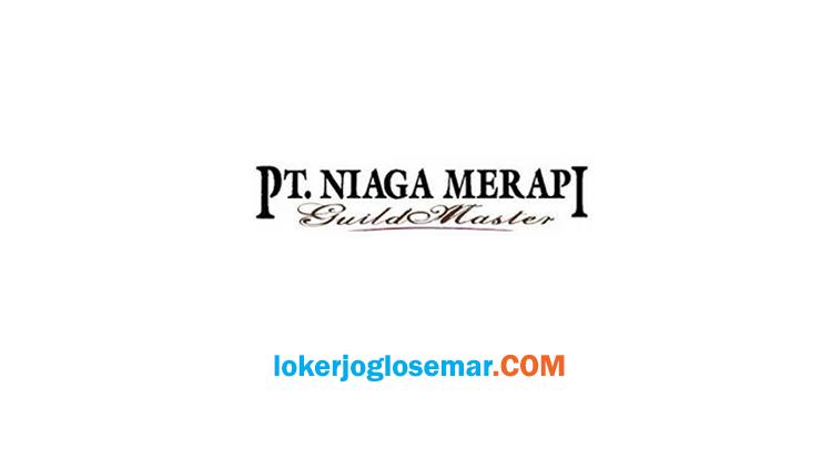 Loker Jogja Terbaru PT Niaga Merapi