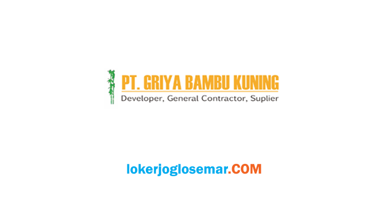 Lowongan Marketing Support Developer Area Solo Raya PT Griya Bambu Kuning