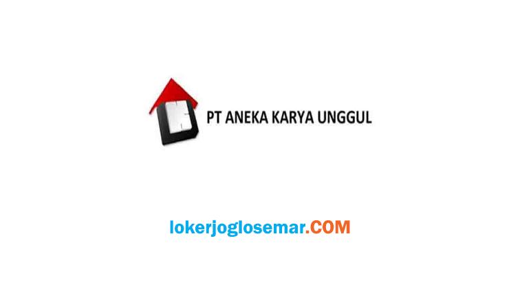 Lowongan Sales Marketing Yogyakarta PT Aneka Karya Unggul