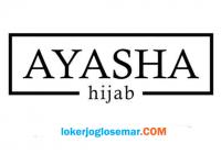 Loker Jogja September 2020 Ayasha Hijab