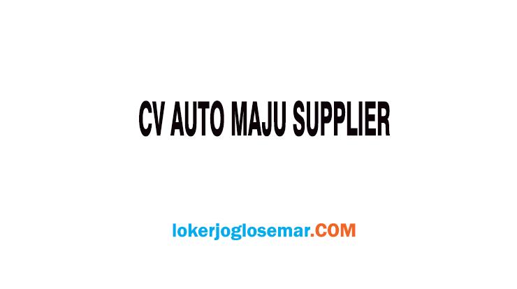 Loker Semarang CV Auto Maju Supplier Lulusan SMK Akuntansi