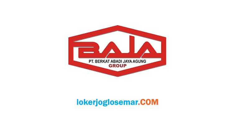 Info Loker Sukoharjo PT Berkat Abadi Jaya Agung