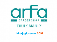 Info Loker Terbaru Arfa Barbershop Magelang