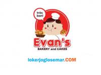 Loker Semarang Evans Bakery & Cakes Agustus 2020