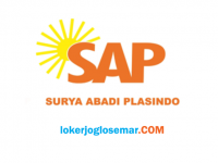 Loker Sukoharjo Terbaru PT Surya Abadi Plasindo