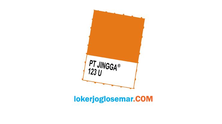 Lowongan Kerja Jogja PT Jingga September 2020