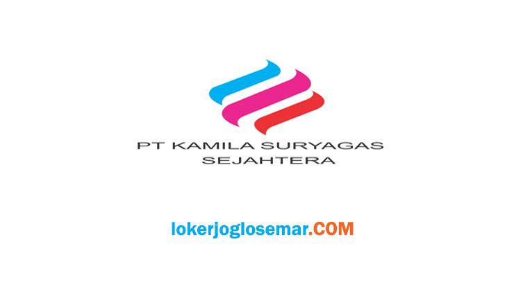 Lowongan Kerja Jogja PT. Kamila Suryagas Sejahtera