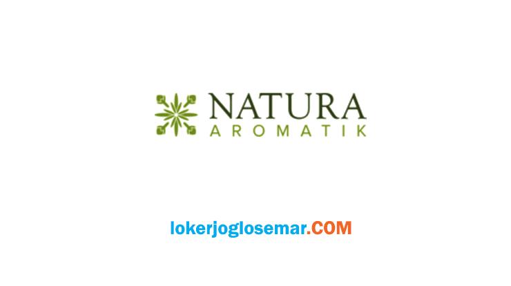 Lowongan Kerja Karanganyar Terbaru PT Natura Aromatik Nusantara