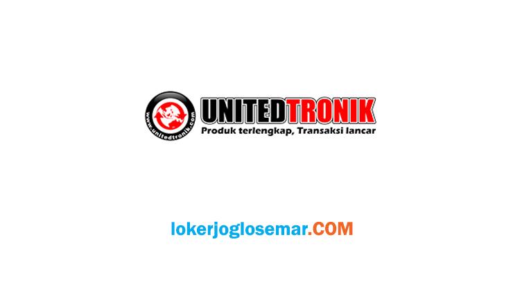 Loker Semarang September 2020 PT Unitedtronik Perkasa Sejahtera