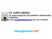 Loker Solo Lulusan SMA/SMK Bunda Baby Shop (CV Surya Abadhi)