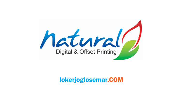 Loker Solo dan Jakarta September 2020 Natural Digital & Offset Printing