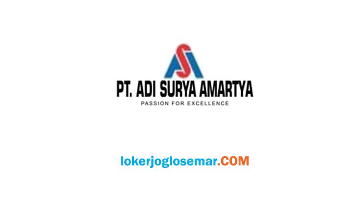 Lowongan Kerja Sukoharjo dan Sekitarnya PT Adi Surya Amartya