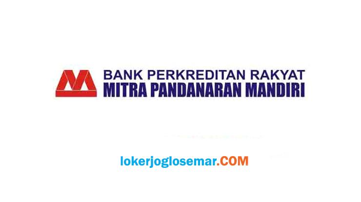 Loker Boyolali September 2020 BPR Mitra Pandanaran Mandiri