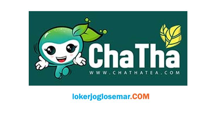 Lowongan Kerja Sleman September 2020 ChaTha Tea Group