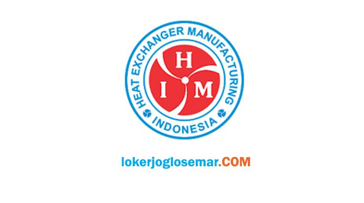 Loker Karanganyar Lulusan D3 S1 PT Heat Exchanger Manufacturing Indonesia