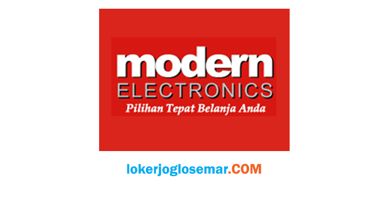 Loker Semarang Modern Elektronics September 2020