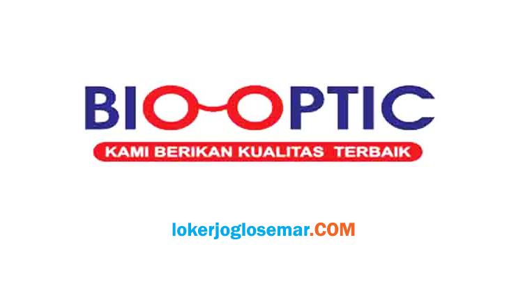 Loker September 2020 Bio Optic Penempatan Solo dan Jogja