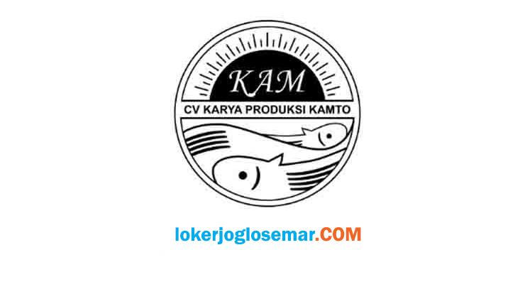 Lowongan Kerja Sleman CV Karya Produksi Kamto