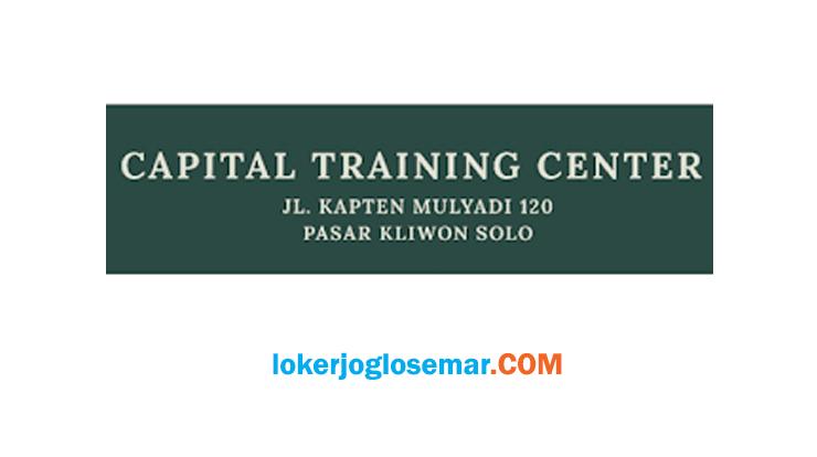 Loker Solo Oktober 2020 Capital Training Center