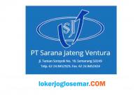 Loker Lulusan D3 dan S1 PT Sarana Jateng Ventura Semarang