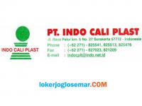 Loker Pabrik Kemasan Plastik Karanganyar PT Indo Cali Plast September 2020