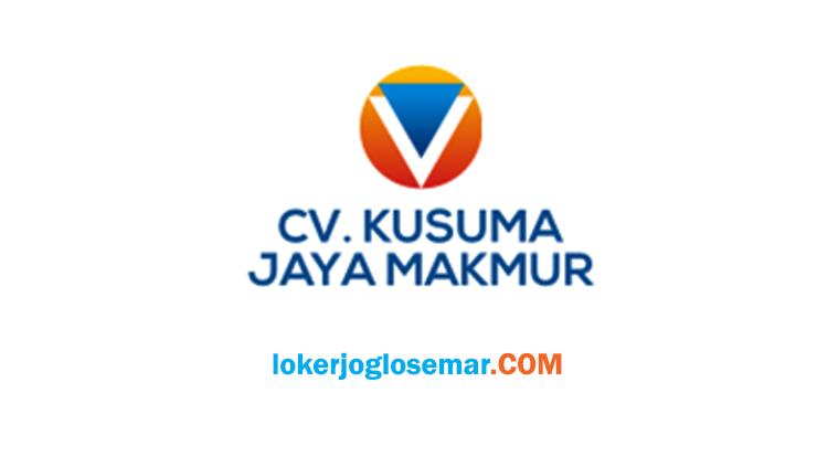 Loker Semarang September 2020 CV Kusuma Jaya Makmur