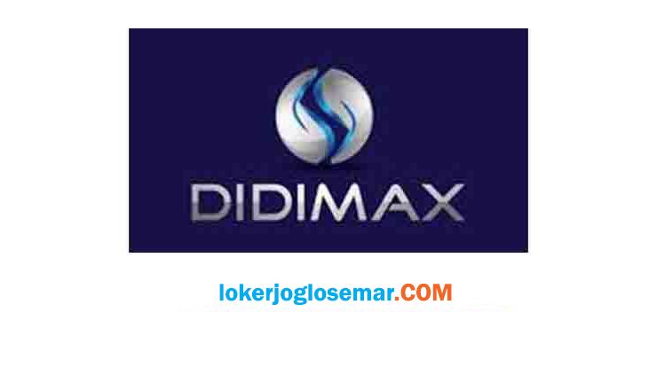 Lowongan Kerja Jogja September 2020 Didimax