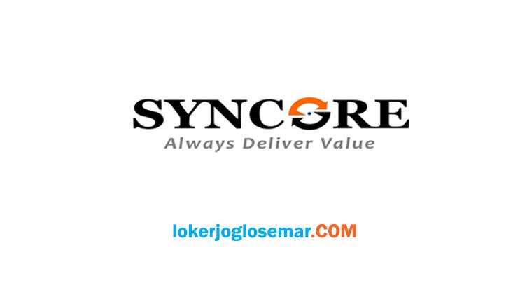 Lowongan Kerja Jogja Terbaru Oktober 2020 PT Syncore Indonesia