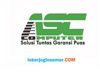 Lowongan Kerja Sleman Lulusan D3/S1 ASC Computer