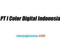 Lowongan Kerja Solo Oktober 2020 PT i Color Digital Indonesia