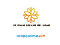 Lowongan Kerja Tangerang Oktober 2020 PT Royal Berkah Melimpah