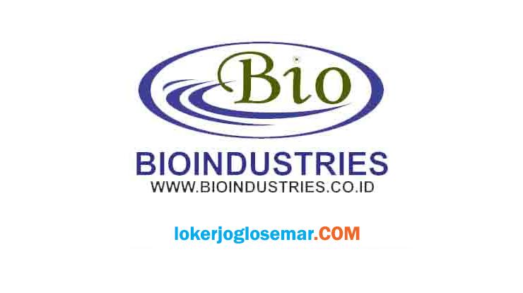 Loker Jogja Terbaru Oktober 2020 Bioindustries