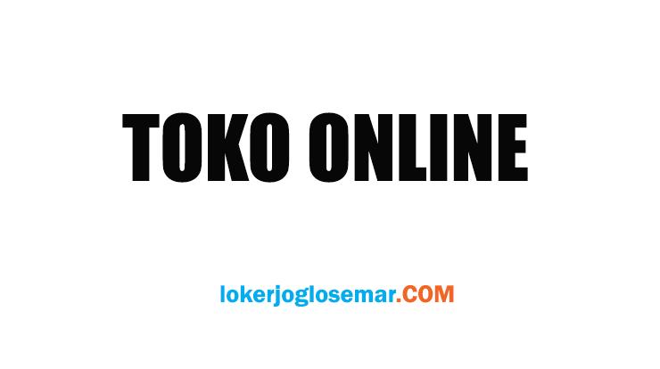 Loker Lulusan SMA/SMK Toko Online Jogja
