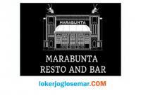 Loker Oktober 2020 Marabunta Resto and Bar Semarang